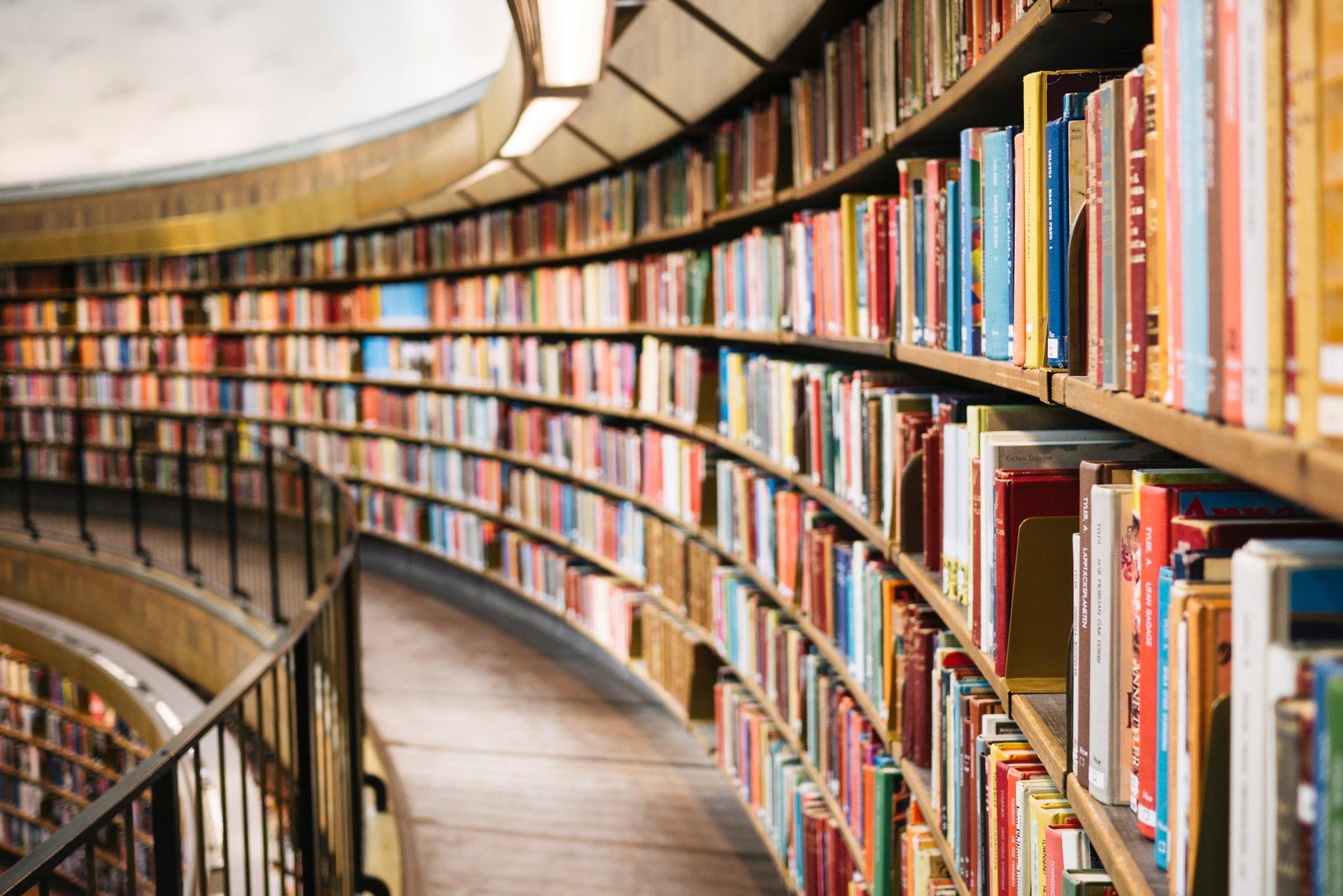 図書館にある本